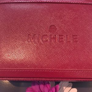 Other - Michele Watch Box😘Can fit 3 watches and bands❤️